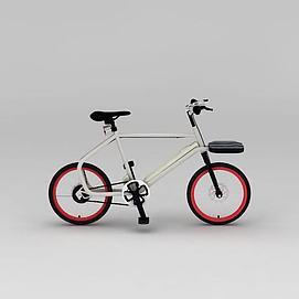 山地自行车模型
