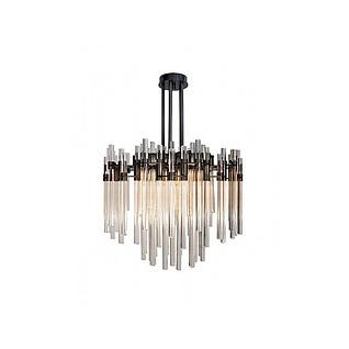 现代水晶玻璃吊灯3d模型