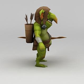 召唤师联盟游戏角色3d模型3d模型