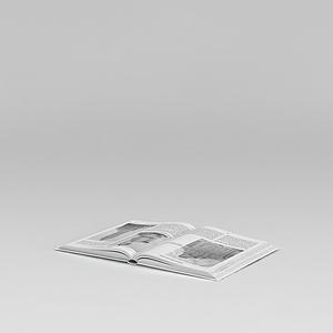 3d外文书籍<font class='myIsRed'>杂志</font>模型