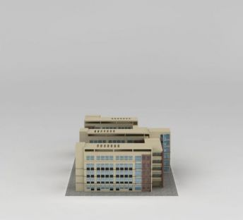 现代学校教学楼