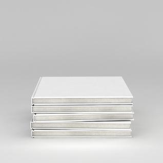精装典藏书籍3d模型3d模型