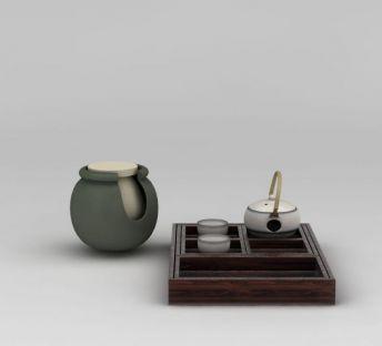日式陶瓷茶具