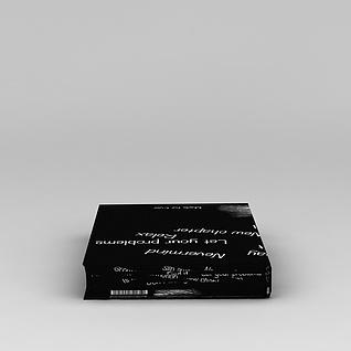 涂鸦书籍3d模型3d模型