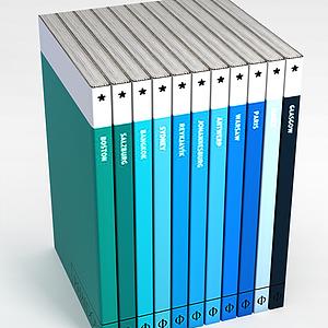 3d公司书刊<font class='myIsRed'>杂志</font>模型