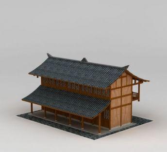 仿古日式建筑