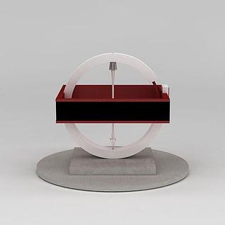 规矩方圆雕塑3d模型