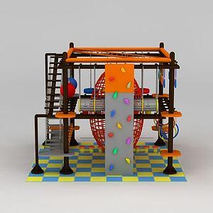 儿童拓展设施模型