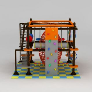 儿童拓展设施3d模型