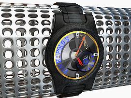 男士机械手表模型