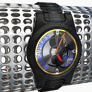 男士机械手表3d模型