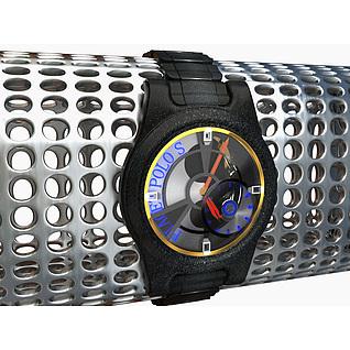 男士机械手表3d模型3d模型