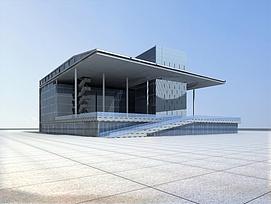 现代商业大厦3d模型
