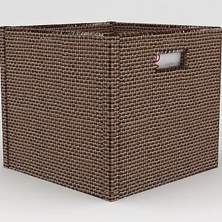 文件篮收纳筐3d模型3d模型