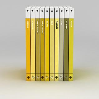 黄色系列书册3d模型3d模型