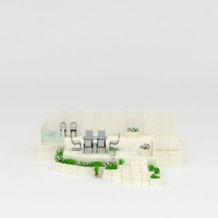 私家花园3d模型