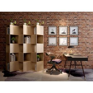 书房书柜桌椅家具组合3d模型