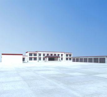 藏式村委会建筑