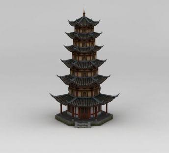 中国古代塔楼