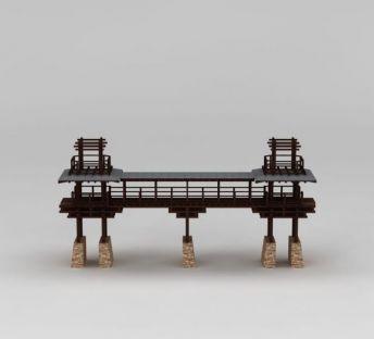中式园林景观桥