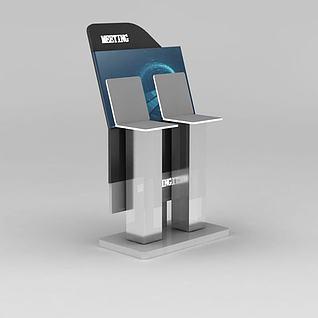 科技展台3d模型