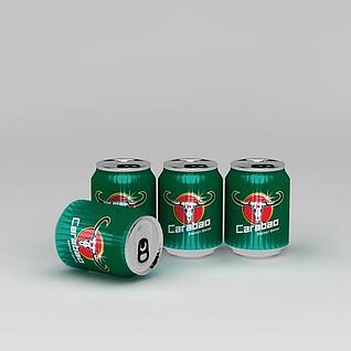 泰国卡拉宝饮料瓶3d模型