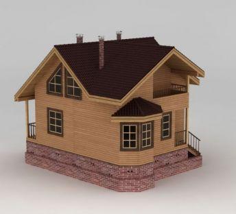 美式 风格木屋