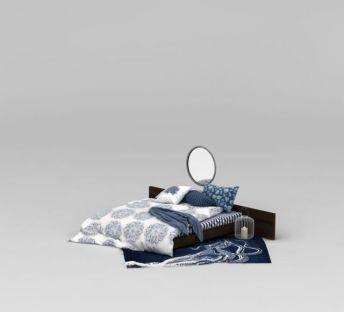 卧室矮床及床上用品