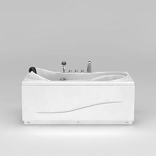 法恩莎FAENZA浴缸3d模型