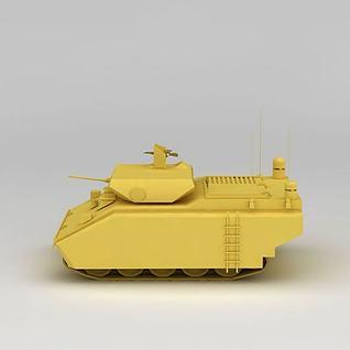mk17装甲车3d模型