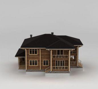 精美二层木屋别墅