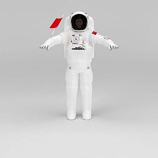 宇航员3d模型