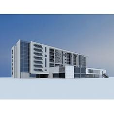办公楼3D模型3d模型