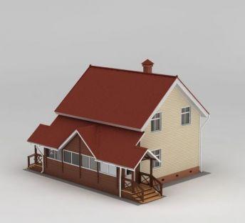 欧式漂亮木屋