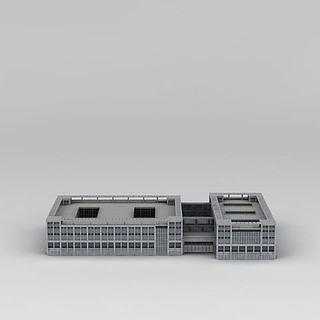 <font class='myIsRed'>现代商务办公楼</font>3d模型
