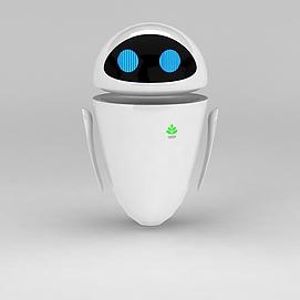 机器人总动员女主角模型