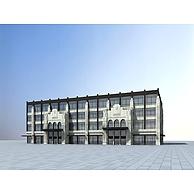 欧式商业楼3D模型3d模型