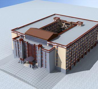 藏式大型酒店