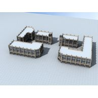 商业裙楼3D模型3d模型