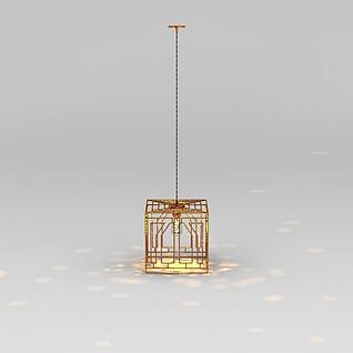 中国风吊灯3d模型3d模型