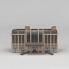 五星高档酒店3D模型3d模型