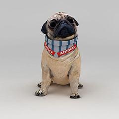 癞皮狗模型3d模型