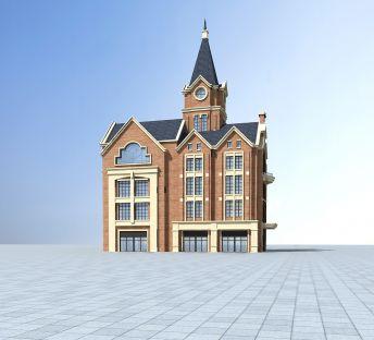 欧式教堂建筑