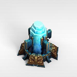 lol水晶柱模型3d模型