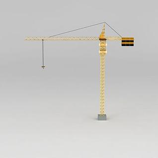 塔吊3d模型