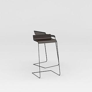 吧台椅子3d模型