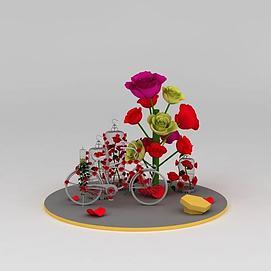 装饰花树3d模型