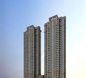 高层住宅小区建筑