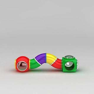 儿童游乐拱桥3d模型