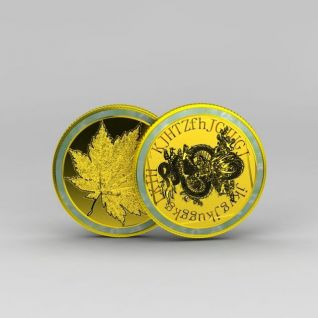 纪念币3d模型